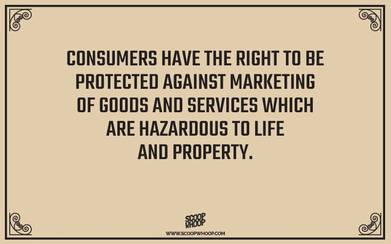 Consumer rights in india pdf