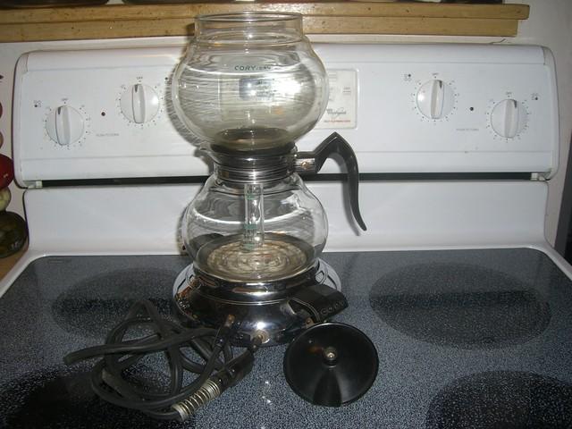 cory vacuum coffee maker instructions
