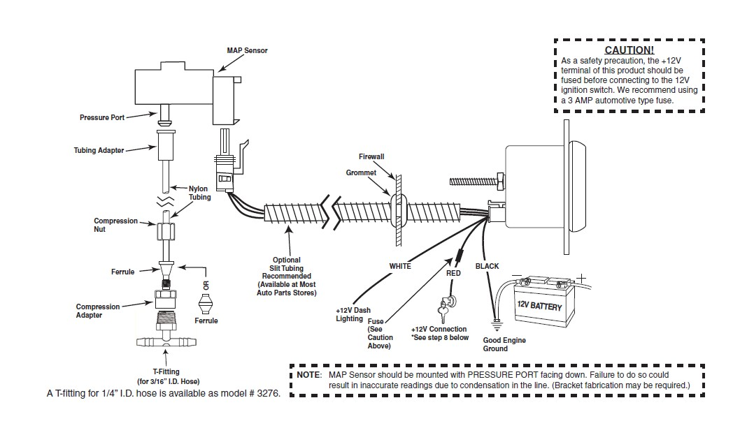 cyberdyne gauge installation instructions