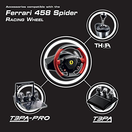 thrustmaster ferrari 458 spider racing wheel manual
