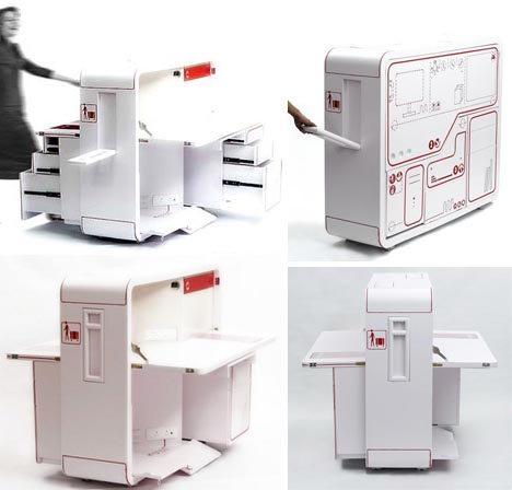 innovative technology suitcase instructions