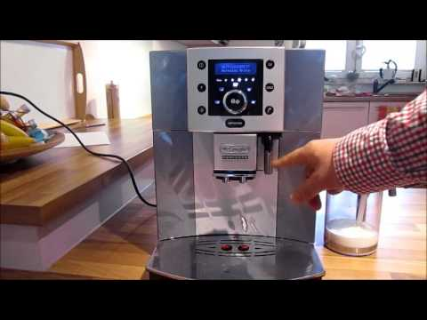delonghi perfecta cappuccino esam 5500 manual
