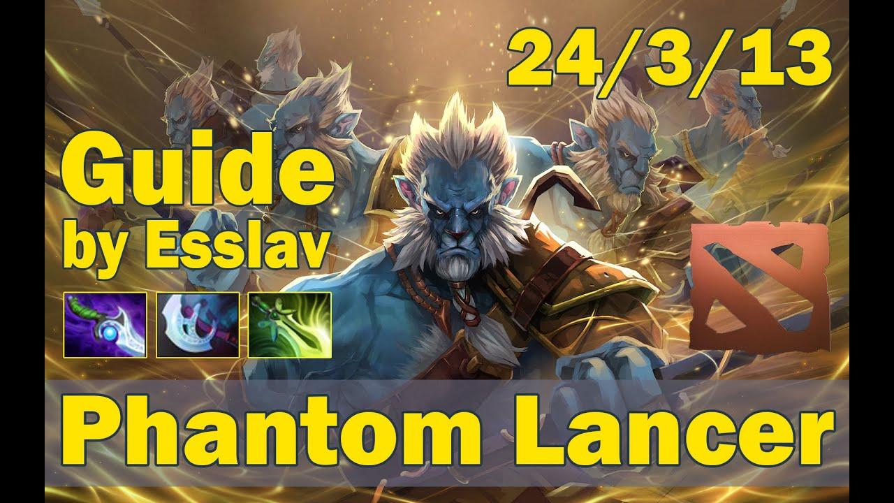 Dota 2 phantom lancer guide 6.88