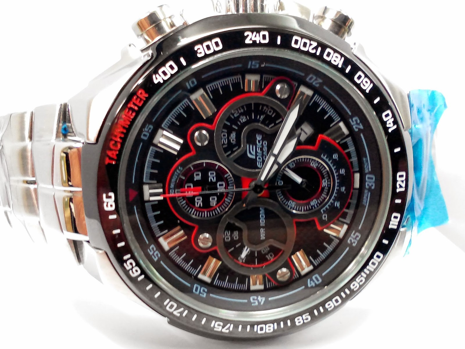 casio edifice manual change time