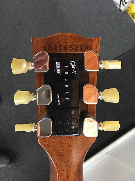 Gibson g force tuner manual