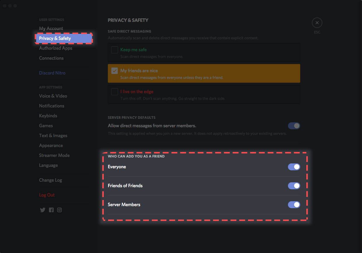 Discord how to get someone blacklisted