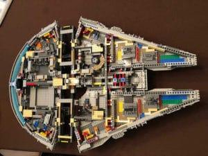 lego millennium falcon instructions 75192