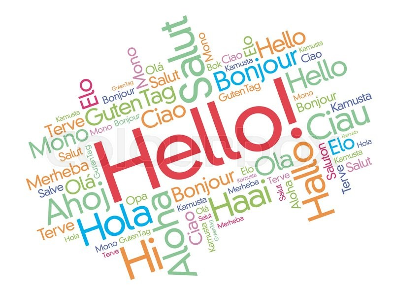 Hello in different languages pdf