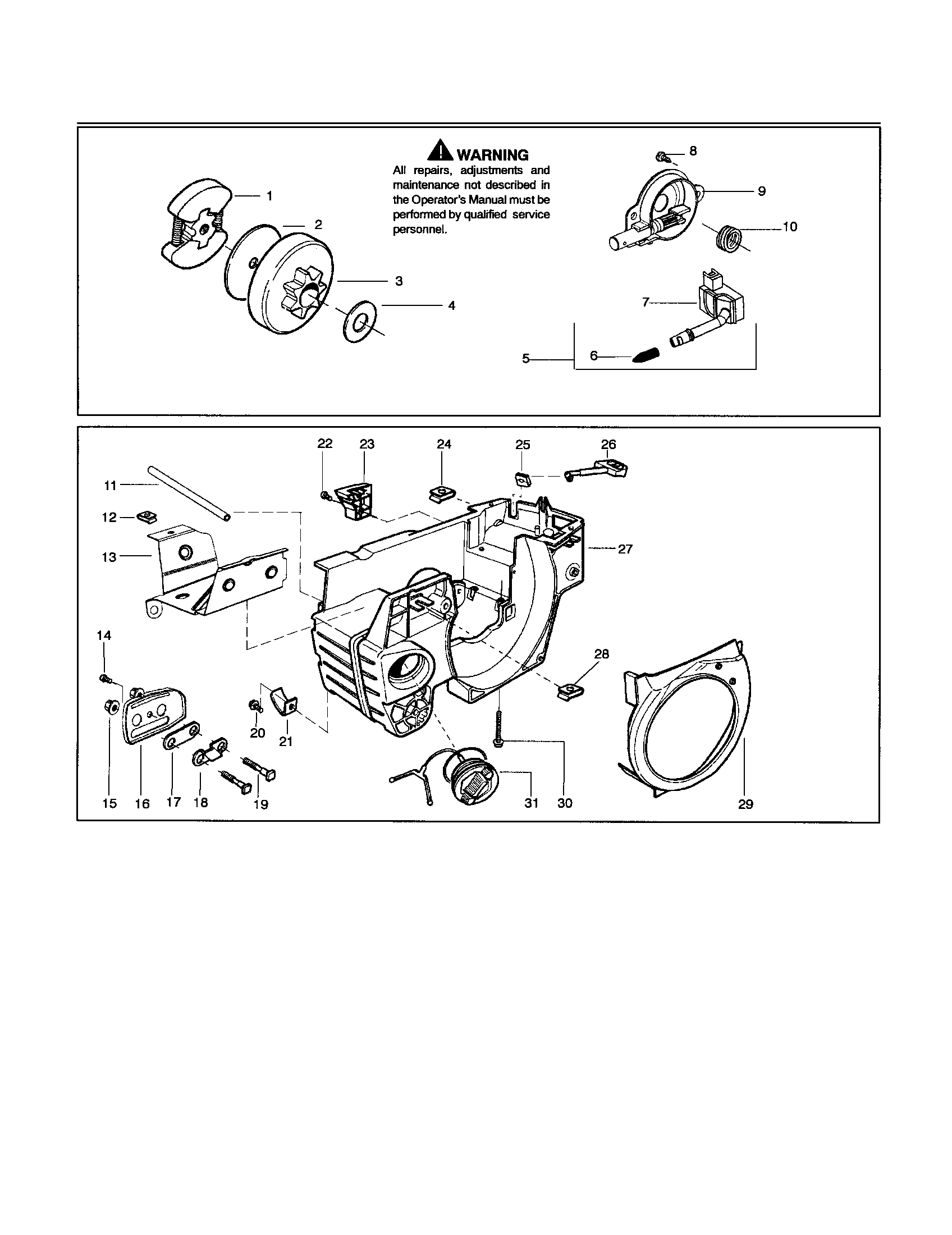 Husqvarna 235 e-series chainsaw manual