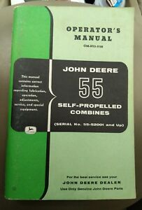 john deere 1075 combine operators manual