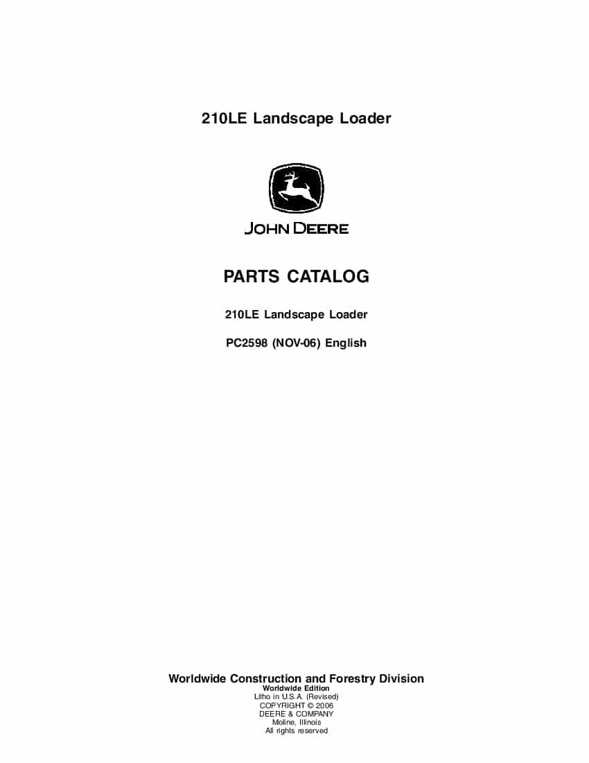 John deere 425 parts manual pdf