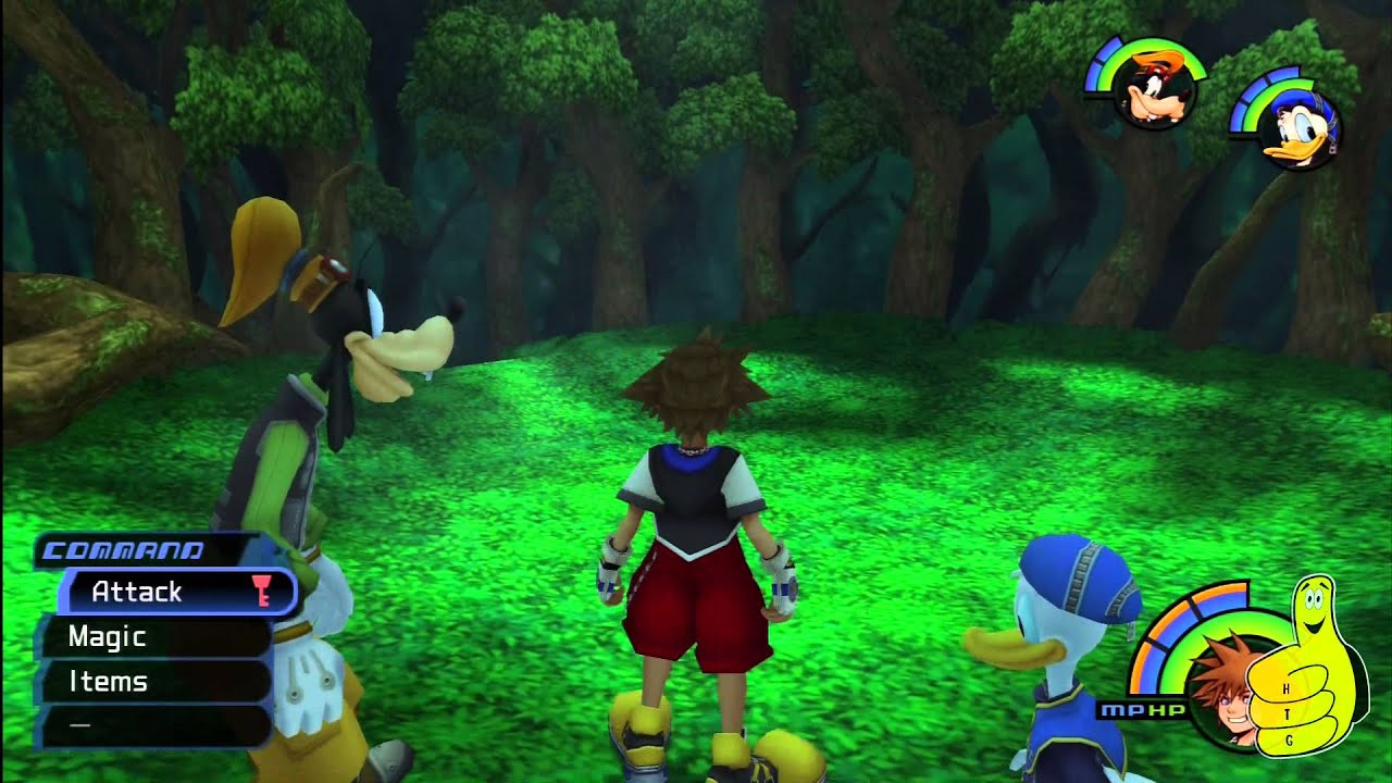 Kingdom hearts deep jungle how to get to treehouse