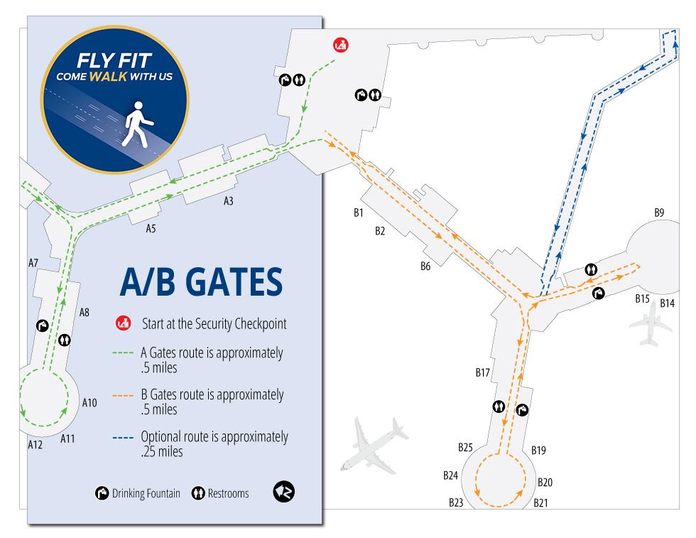 Las vegas airport map pdf