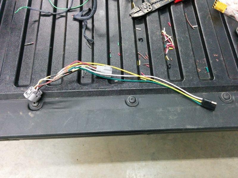 leer cap wiring instructions