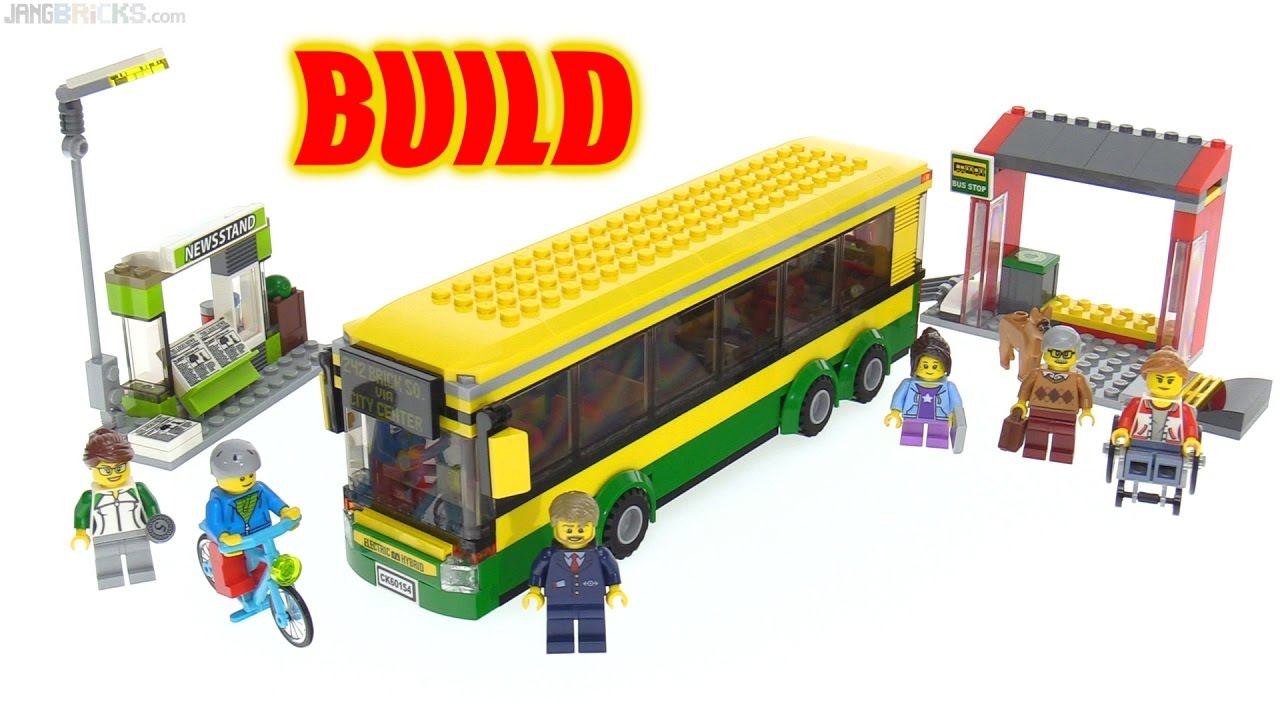 lego city bus instructions 60154