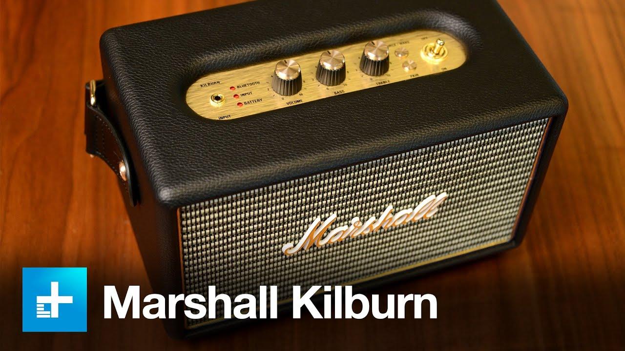 marshall kilburn bluetooth speaker manual
