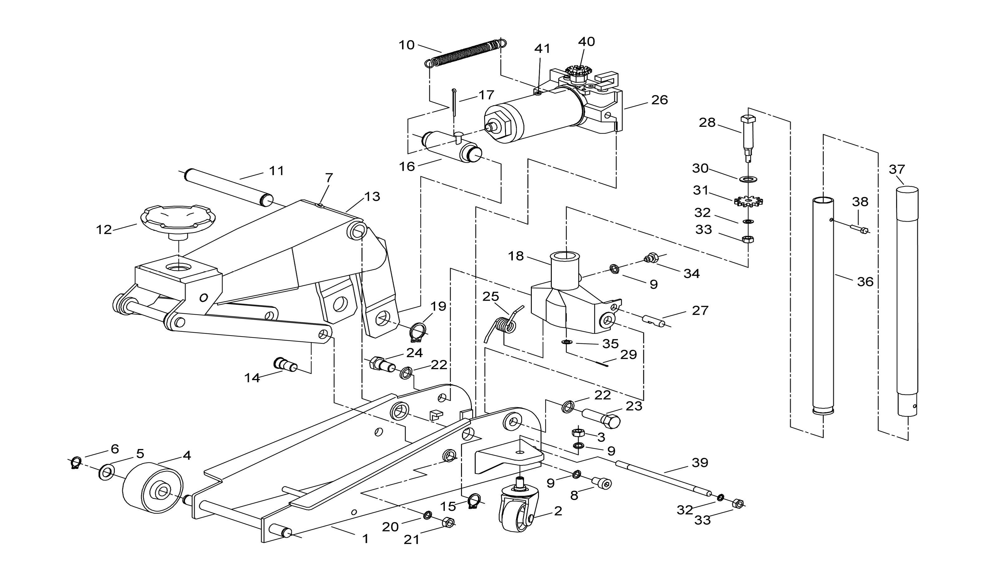 motomaster hydraulic trolley jack manual