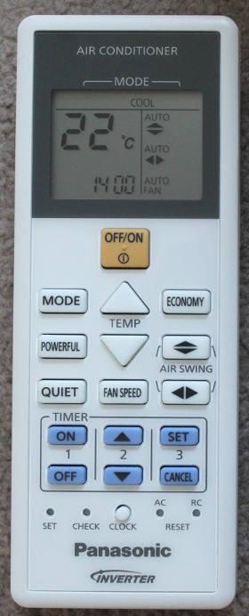 panasonic air conditioner manual cs-z21rkr