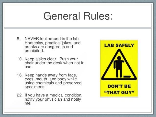 practical joke soap laboratory instructions