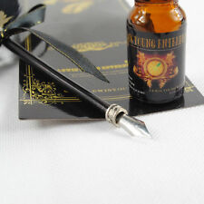 Quill and ink bottle set instructions