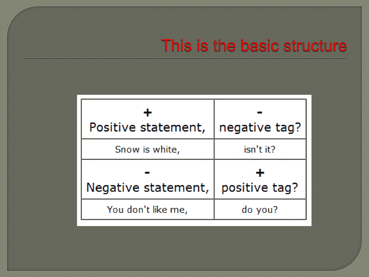 Rules forming tag question pdf