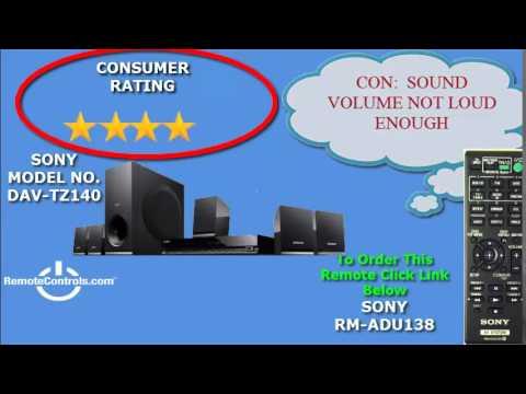 sony dvd home theatre system dav tz140 manual