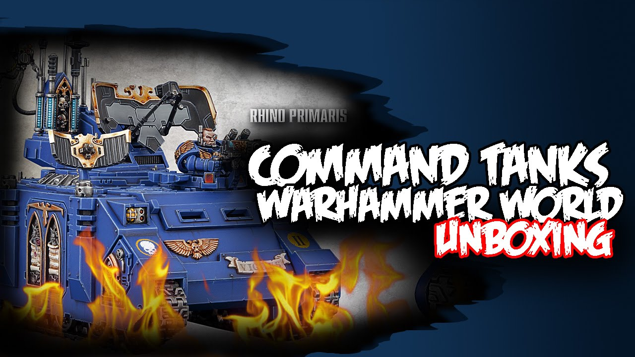 Space marine command tanks pdf