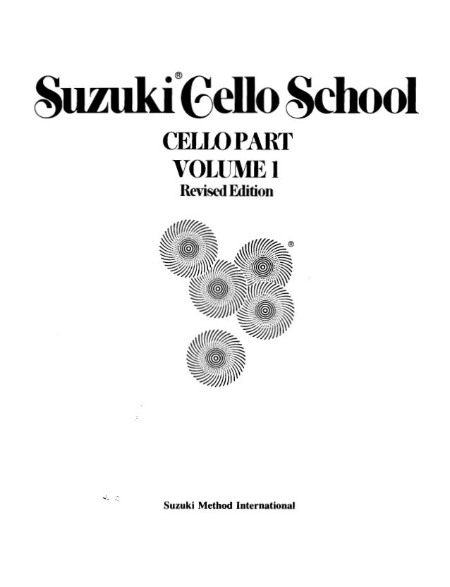 Suzuki cello book 1 pdf download french