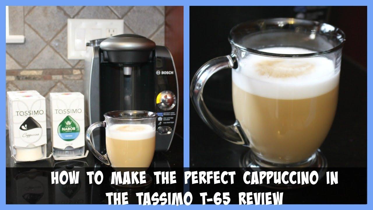 Tassimo costa cappuccino how to make