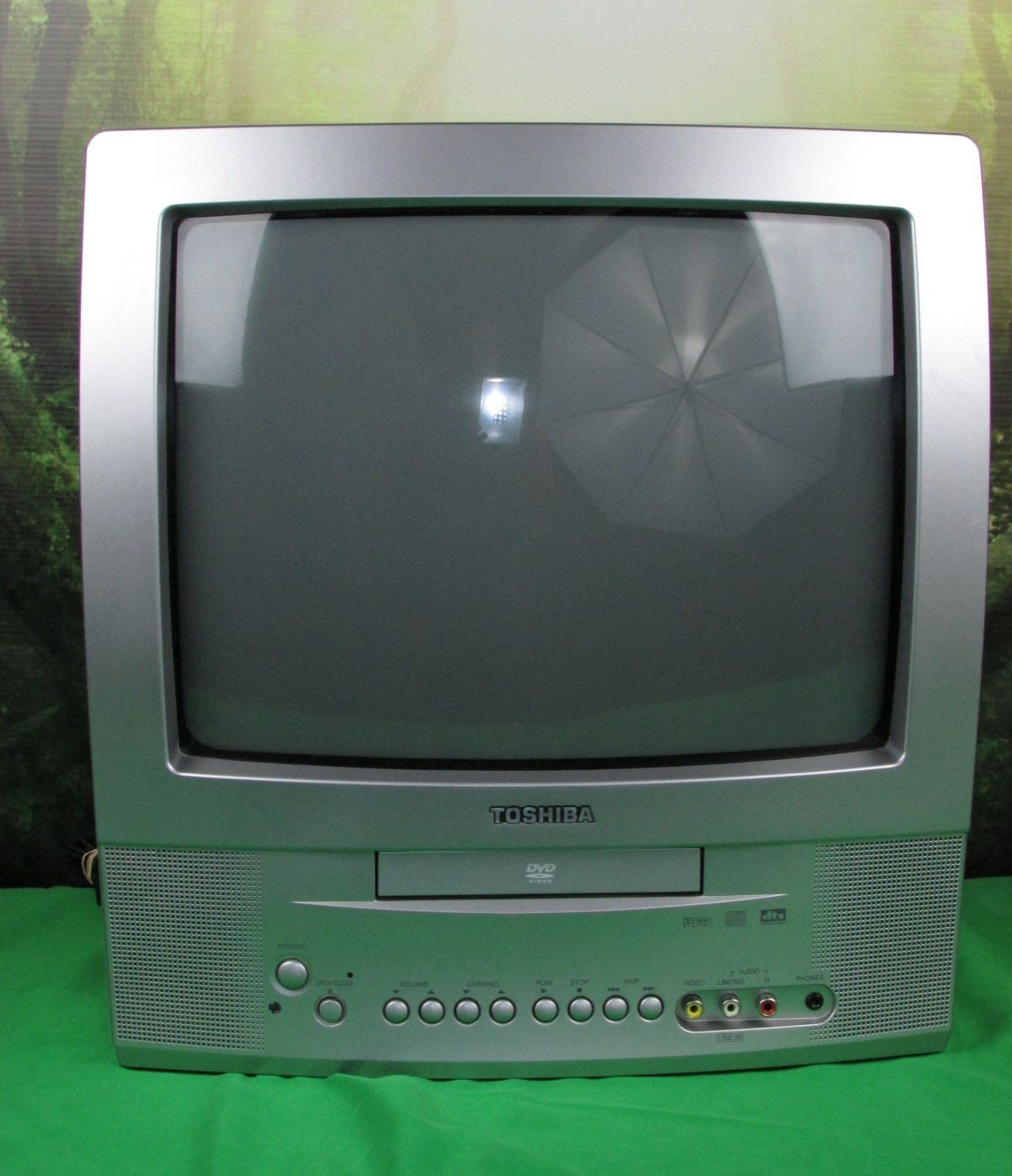 teac tv with built in dvd player manual