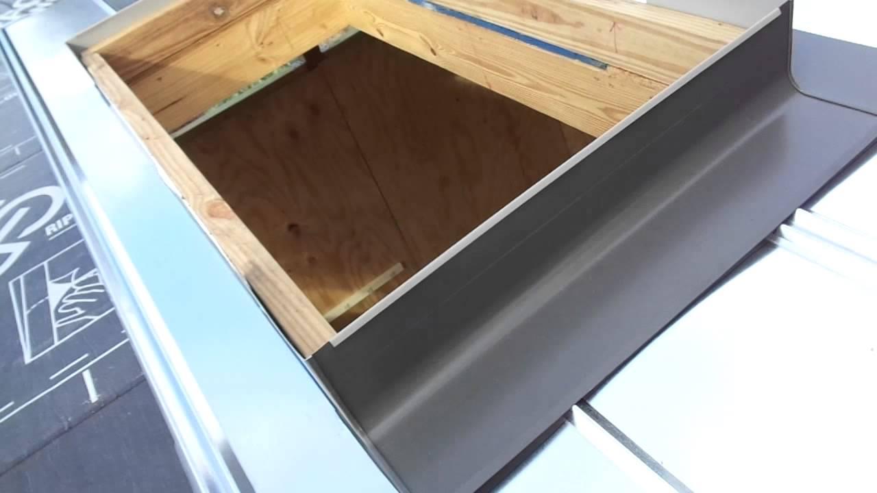 velux skylight flashing kit instructions